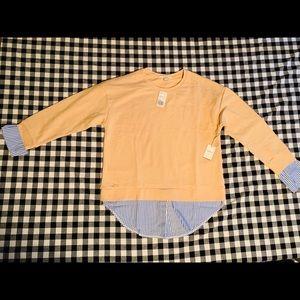 New!! F21 tan sweatshirt